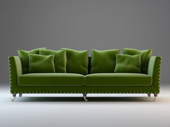Phenomenal Classic Upholstered Fabric Couch Set Free 3Ds Max Model Inzonedesignstudio Interior Chair Design Inzonedesignstudiocom