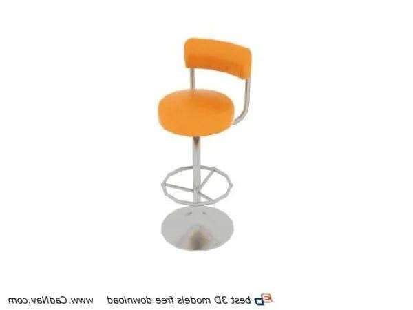 Phenomenal Fashion Pub Bar Stool Furniture Free 3Ds Max Model Max Machost Co Dining Chair Design Ideas Machostcouk