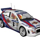 レーシングカーフォードフォーカスRs Wrc