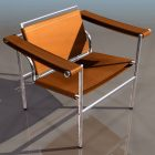 Le Corbusier Cube Shaped Armchair