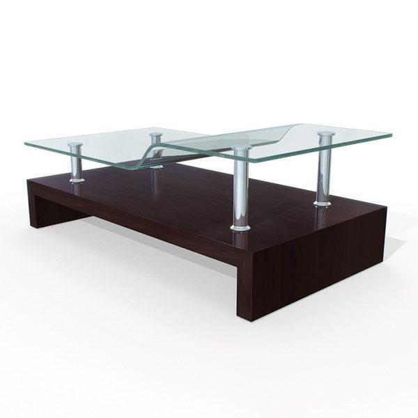 furniture modern design glass tea table