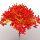 شجرة المناظر الطبيعية الحمراء