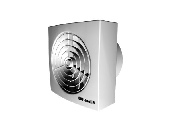 square exhaust fan free 3d model max