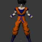 Süper Vegeta Dragon Ball Goku Bölünmüş Animasyonlu