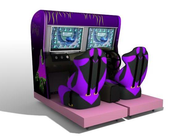 Máquinas de juegos de carreras de autos deportivos
