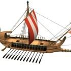 Watercraft Antik Yunan Savaş Gemisi