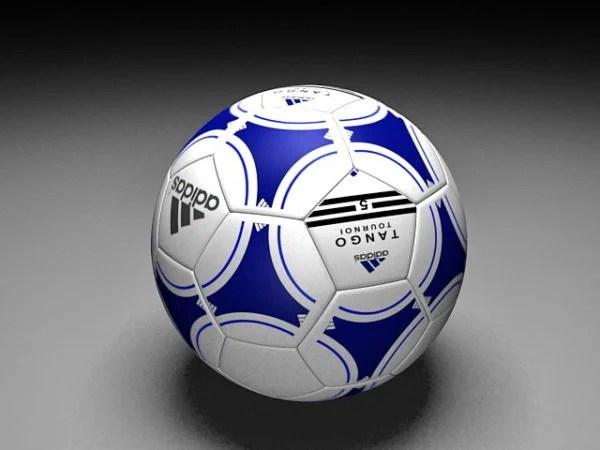 Balón de fútbol Adidas moderno