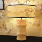 Bedroom Bamboo Table Lamp
