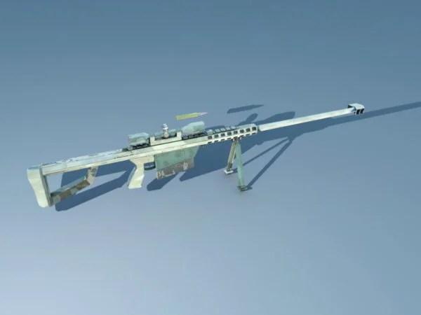 Barrett 50 Cal Sniper Gun