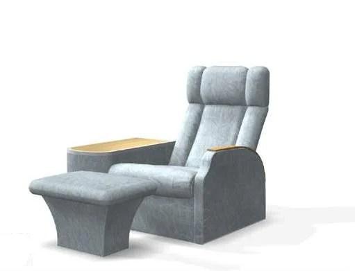 Outstanding Hair Salon Massage Chair Ottoman Free 3Ds Max Model Max Short Links Chair Design For Home Short Linksinfo