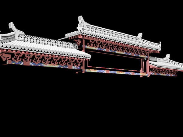 Chinese Ancient Gate