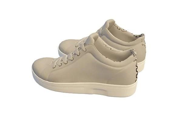 Zapatillas urbanas de lona de moda