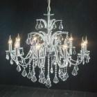 Living Room Crystal Chandelier Candle Lights