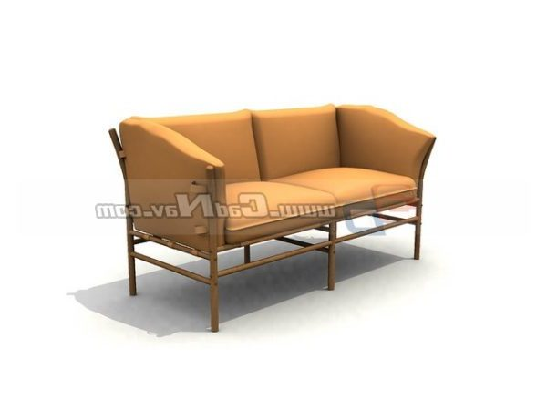 Astounding Cushion Furniture Couch Loveseat Sofa Free 3Ds Max Model Gmtry Best Dining Table And Chair Ideas Images Gmtryco