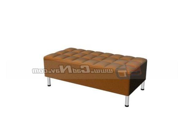 Sofá de tela reposapiés muebles