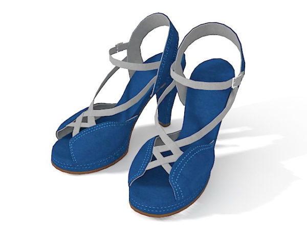 Jeans Mujer Zapatos De Tacón Alto