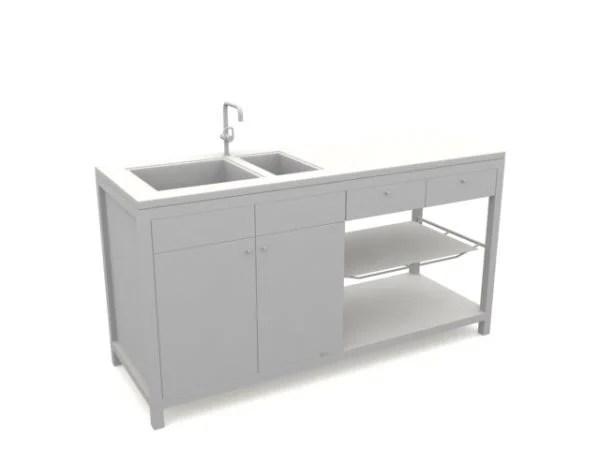 simple kitchen sink base cabinet free