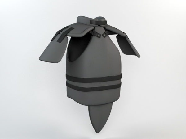 Weapon Leather Body Armour