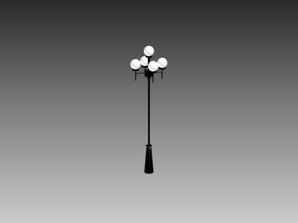 Modern City Street Lamp