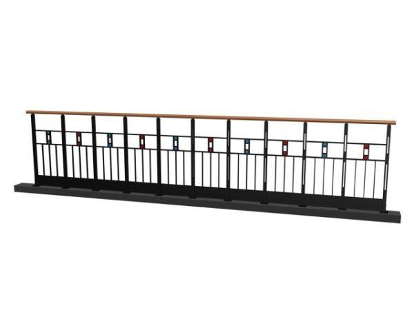 Elegant Ornamental Design Railing