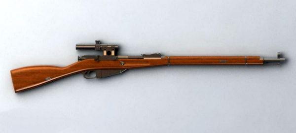 Semi Automatic Rifle Gun