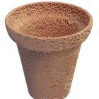 古いテラコッタ植木鉢