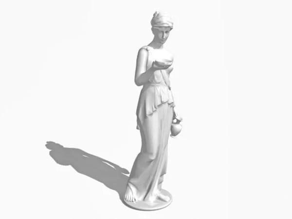 Antigua estatua romana de Venus