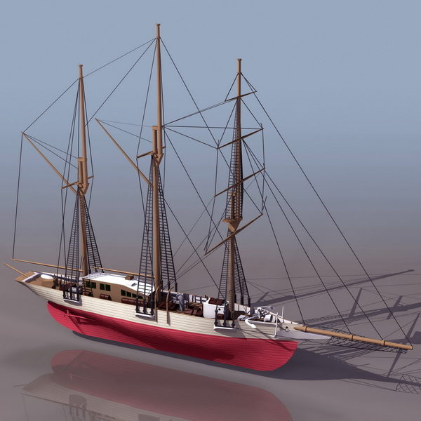 Watercraft Vintage Sailing Ship