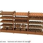 Ahşap Ekmek Teşhir Rafı
