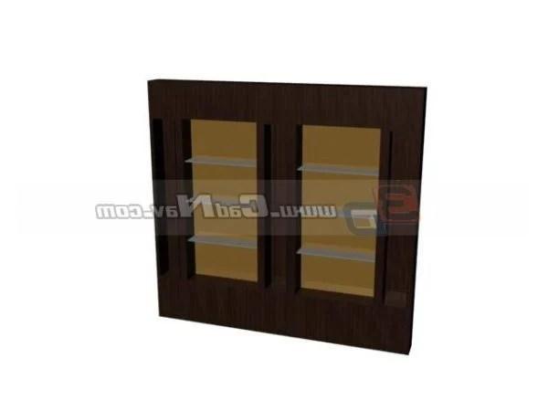 Muebles de madera estantería gabinete