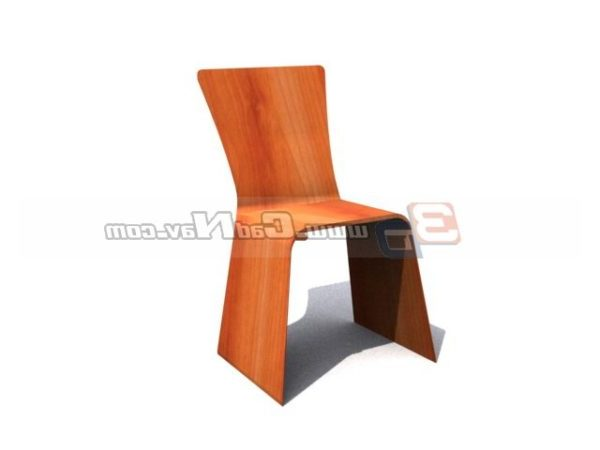 Modern Wooden Dining Room Chair