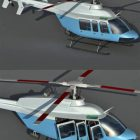 Commercial Bell 407 Helicopter