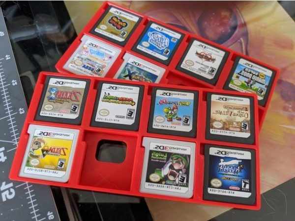 Printable Nintendo Ds Cartridge Holder