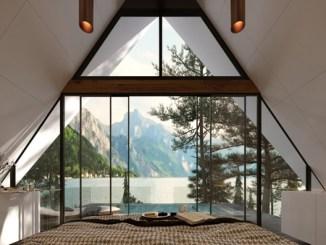 Oasis habitats bedroom interior