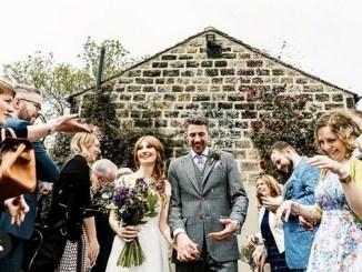Wedding party at Chilli Barn