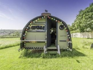 Hut at the paddock
