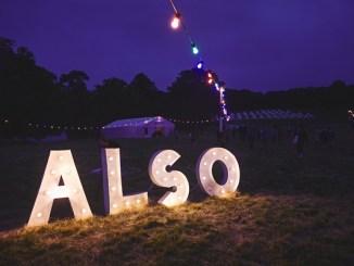 ALSO festival sign