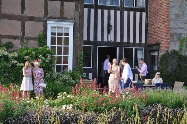 Guests attending a destination wedding