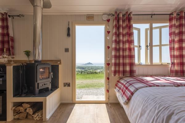 Mount View bedroom view