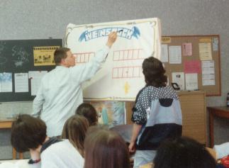 Students practise creativity