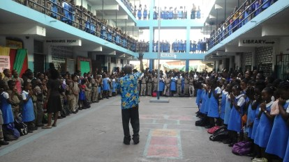 Whole school assembly