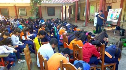 Closing in prayer