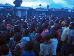 Congo Village Crowd