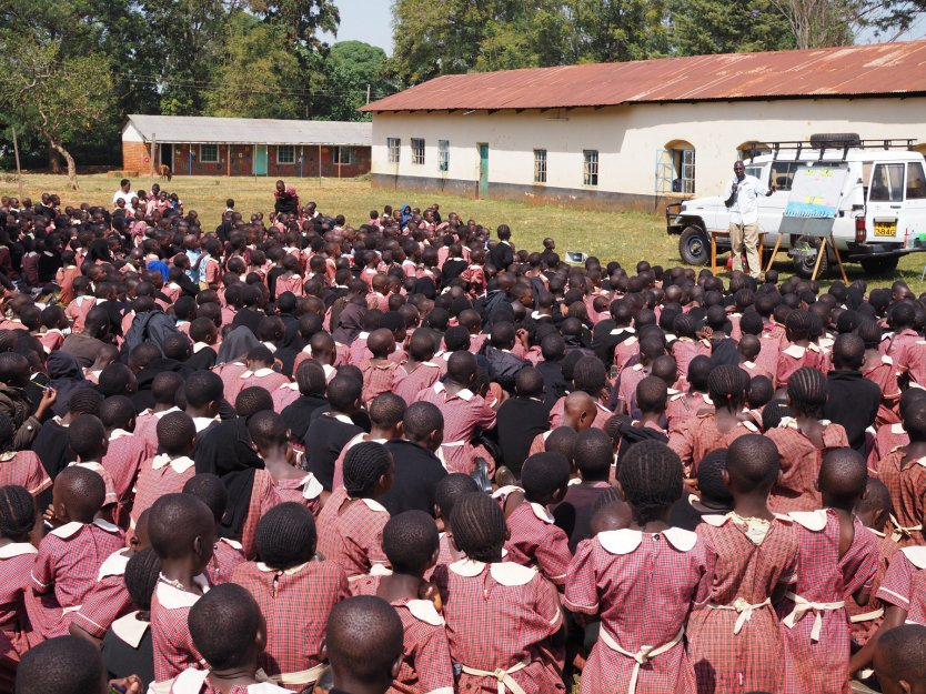 School ministry in Kenya 2020