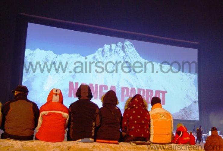 Filmpremiere mit AIRSCREEN