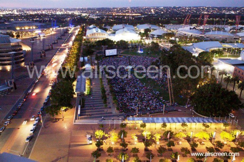 Movies in the overflow in Sydney