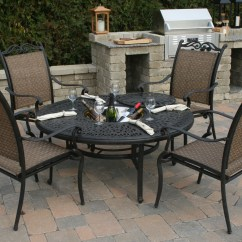 Re Sling Patio Chairs Old Hickory Antique All Welded Aluminum Furniture Is A