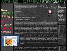 CYBERSPACEETHNOGRAPHY