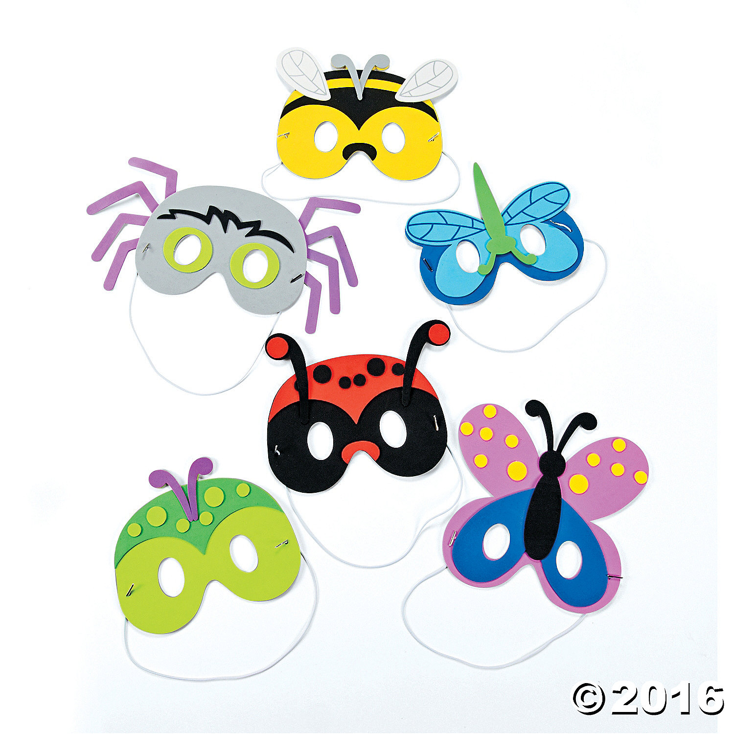 Bug Mask Craft Kit 12pk Party Supplies Canada Open A Party