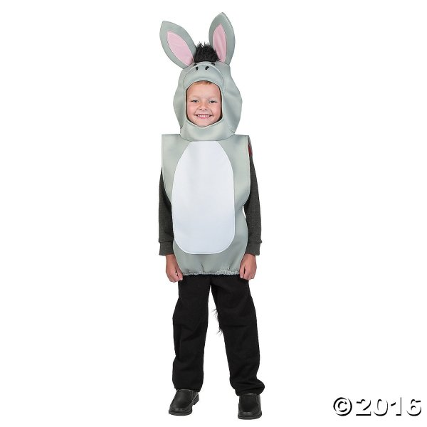 Child' Deluxe Nativity Donkey Costume Party Supplies